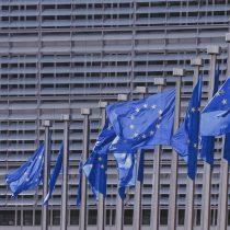 blue, building, pattern, freedom, stars, flag, europe, liberty, laws, parliament, politics, ue, voting